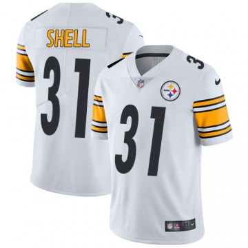 Men's Donnie Shell Pittsburgh Steelers Limited White Jersey