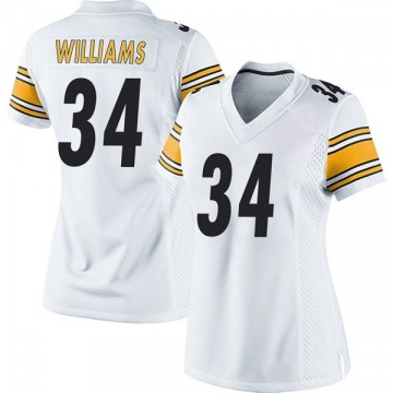 Women's DeAngelo Williams Pittsburgh Steelers Game White Jersey