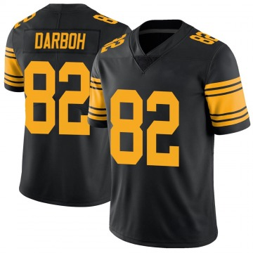 Youth Amara Darboh Pittsburgh Steelers Limited Black Color Rush Jersey