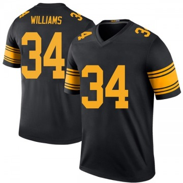 Youth DeAngelo Williams Pittsburgh Steelers Legend Black Color Rush Jersey