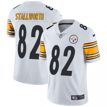 Youth John Stallworth Pittsburgh Steelers Limited White Jersey